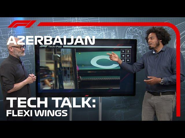 The Flexi-Wing Showdown In Baku   F1 TV Tech Talk   2021 Azerbaijan Grand Prix