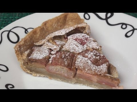 Rhubarb and Custard Tart Recipe