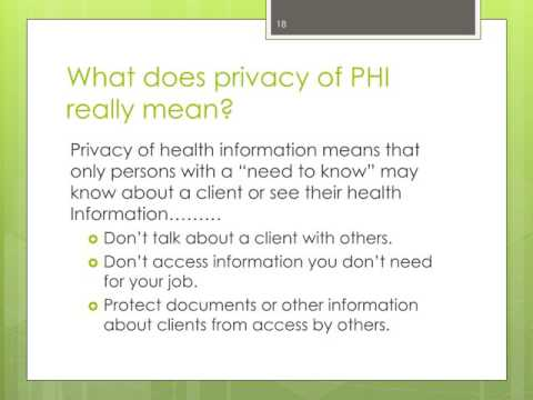 SLO County Health Agency Privacy and Security Training - Contractor and NWP Edition