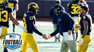 Michigan Hauls In A Top 10 Recruiting Class For 2021   Big Ten Football   Signing Day