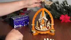 How a German Christmas Pyramid Is Made