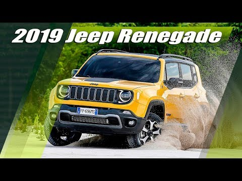 New 2019 Jeep Renegade Facelift - Exterior, Interior, Drive & Specs