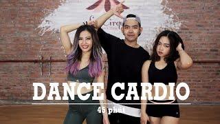 DANCE CARDIO #1 | 45 phút giảm mỡ hiệu quả (600 calories, all level) | Hana Giang Anh | Workout #76 thumbnail