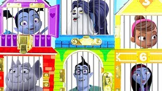 Learn Colors with Vampirina Family Characters