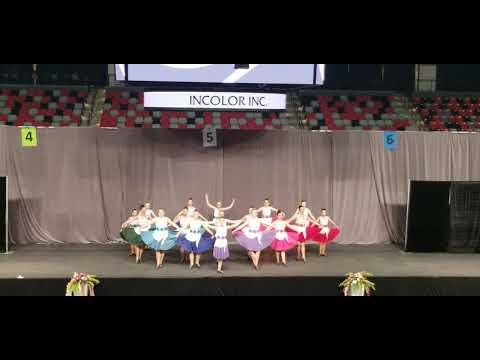 """Pride"" by the Wilson School of Highland Dance, Saskatoon and Calgary, Canada"