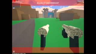 lets play roblox battlefield! part 3: crossbow snipers -_-