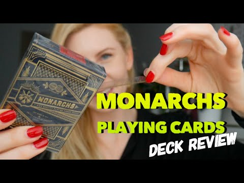 Monarch Playing Cards - Deck Review By Caroline Ravn