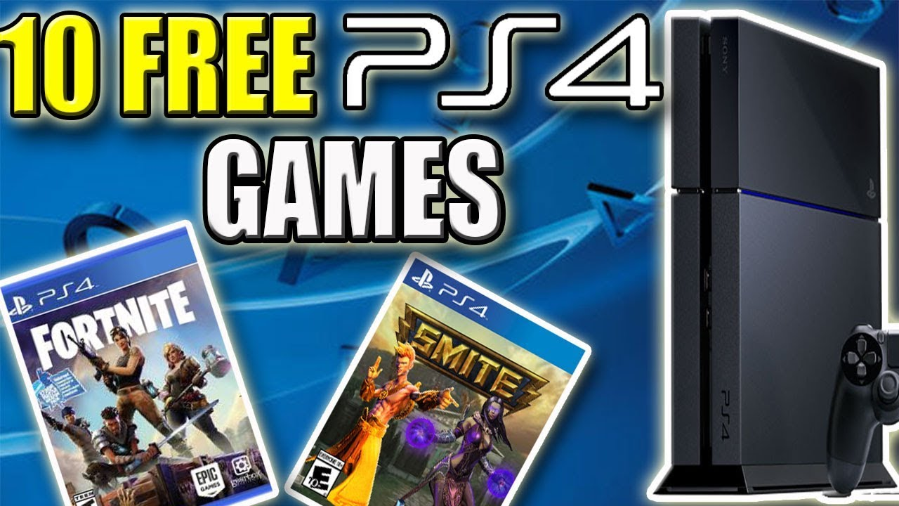 all free to play ps4 games