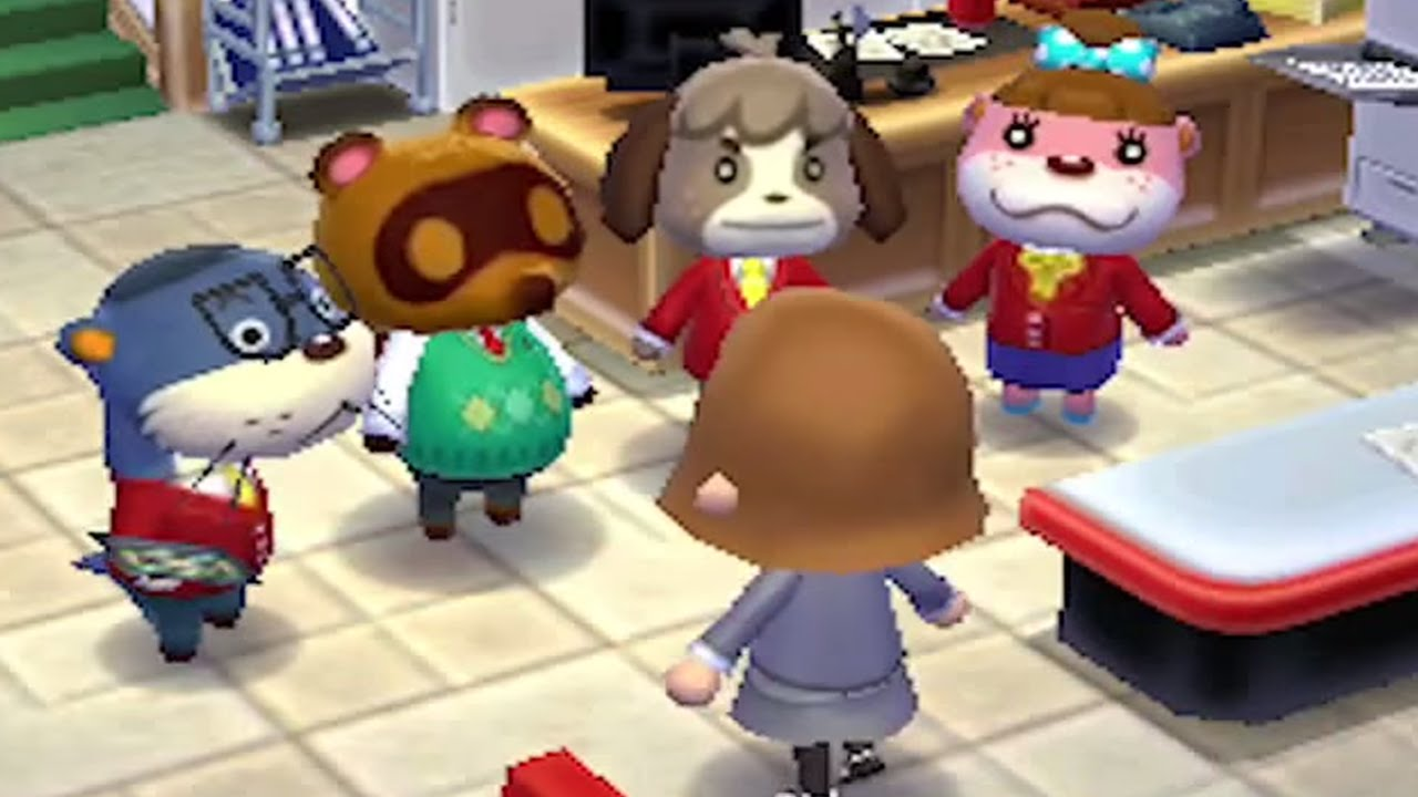 Animal Crossing Happy Home Designer Gameplay E3 2015 ...