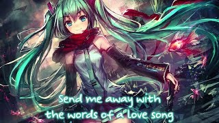 Nightcore - If I Die Young (Rock Version)    Lyrics「The Band Perry」