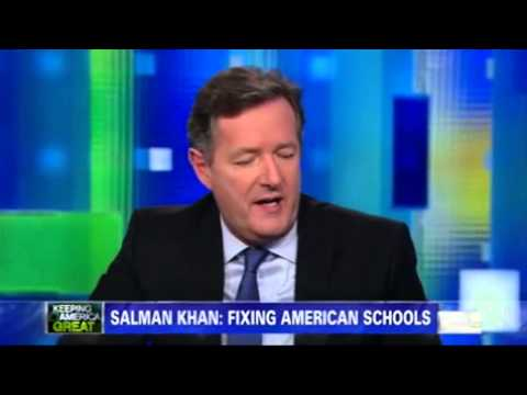 Sal Khan on Piers Morgan Tonight