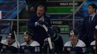 Хайлайты Югра - СКА-Нева. 12.10.2021