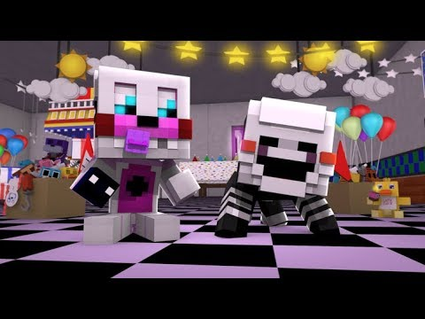Minecraft FNAF- Funtime Freddy Turns Into A Baby- Minecraft Roleplay