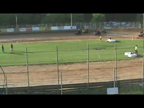 Tyler Esh's heat race