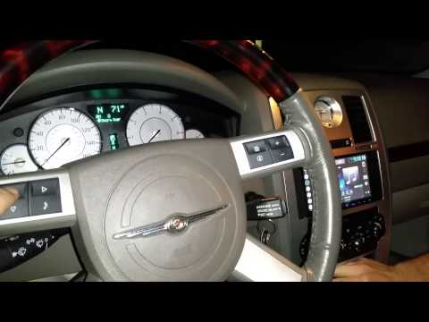 2008 Chrysler 300c Double Din With Rp4-ch11
