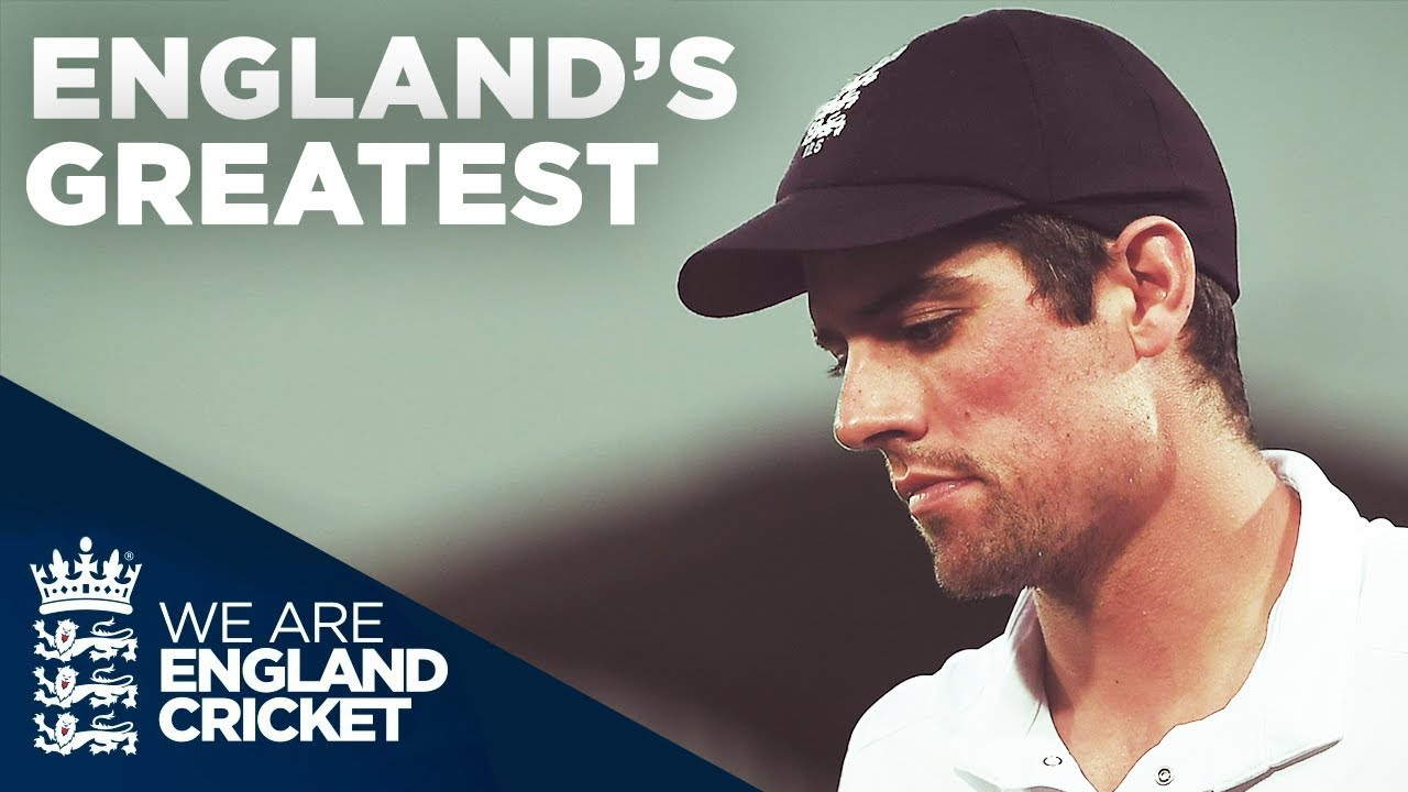 Alastair Cook - England's Greatest   #ThankYouChef
