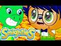 Smighties - Pineapple Rain Challenge | Cartoons Compilation Just for Kids | Funny Kids Cartoons