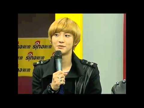 ChanBaek CUT 120918 EXO-K Sina Live Chat