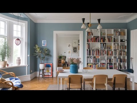 Playful Scandinavian Apartment • Malmö | 🍍 Interior Design