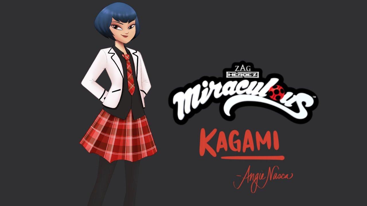 MIRACULOUS   🐞 KAGAMI - Dibujo Especial ✍   Las Aventuras de Ladybug