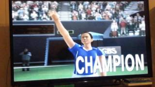 Smash Court Tennis: Pro Tournament 2 Career Mode: Bronze Knights Classic Final as Hana Mandlikova
