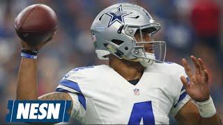 Dak Prescott Has Up-And-Down Debut As Cowboys Lose