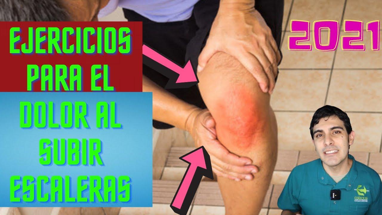 Dolor de rodilla al subir escalera, ejercicios para aliviar el dolor de rodilla al subir escaleras