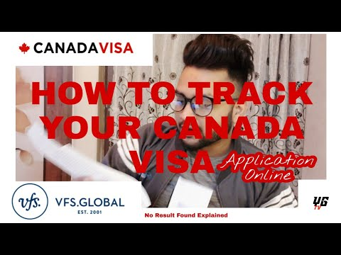 Track Your Canada Visa Application||VFX Global No Result Found-Explained||Student Visa||