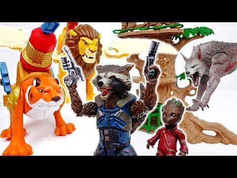 Rocket Raccoon, Help Our Zoo Animals~! #ToyMartTV