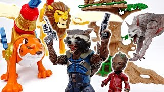 Rocket Raccoon, Help Our Zoo Animals~! #ToyMartTV