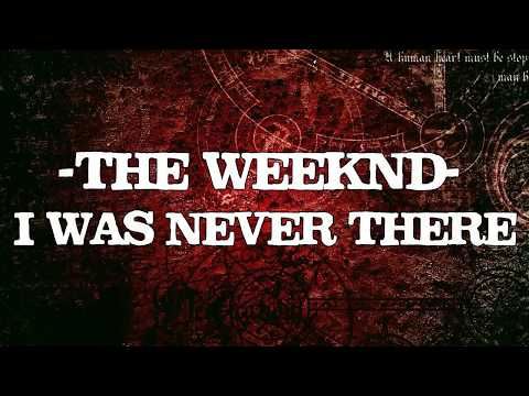 The Weeknd - I Was Never There feat. Gesaffelstein (Karaoke Version)♫