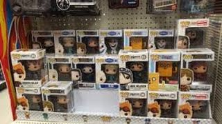 Funko pop bobble head hunting.