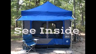 Glamping with EZ UṖ Camping Cube My Glamping Tent