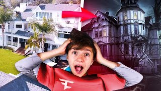 We Turned the FaZe House into a Haunted Mansion