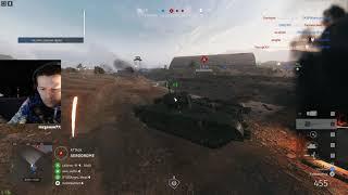BFV - Tank push | CHURCHILL MK VII | Aerodrome