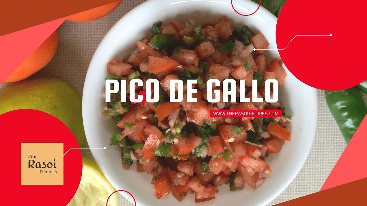 Pico De Gallo | The Rasoi Recipes