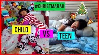 Christmas Child  VS Teen