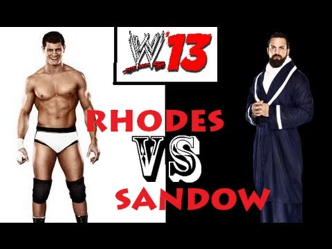 wwe 13 damien sandow vs cody rhodes youtube