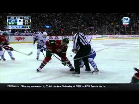 Maple Leafs @ Wild Highlights 12/03/15
