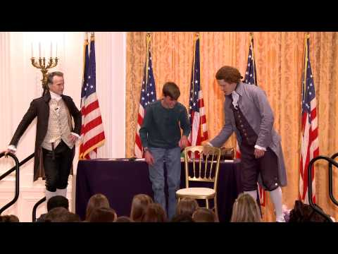 Thomas Jefferson and Alexander Hamilton Debate at the Nixon Library