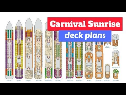 Carnival Sunrise Deck Plans