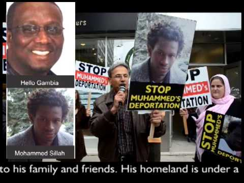 Muhammed Sillah's Deportation - Interview with Muhammed by Hello Gambia Radio