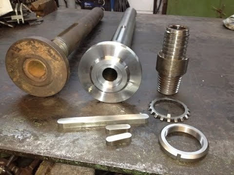 Gearbox Shaft for Well Drilling Part 1