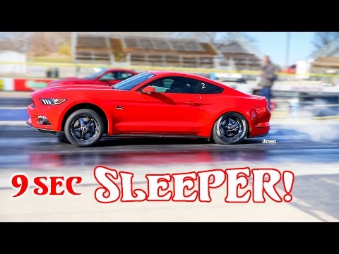 9 SEC SLEEPER! DAILY DRIVER! '16 5.0 GT MUSTANG! HELLION TWIN TURBO! BYRON DRAGWAY!