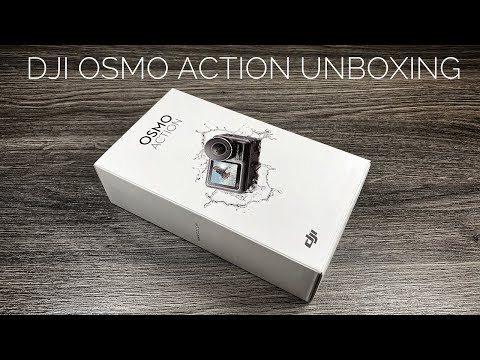 DJI Osmo Action Unboxing & Setup