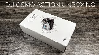 DJI Osmo Action Unboxing & Setup