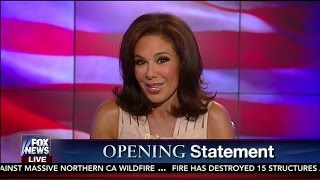 """Judge Jeanine Pirro to Hillary Clinton: """"You Got To Keep Your Story Straight"""" – Opening Statement"""