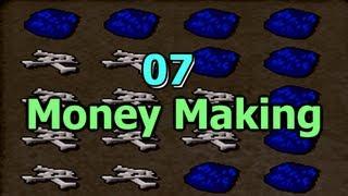Runescape 2007 - Tim's Tips #4 - Blue Dragons Money Making Method!