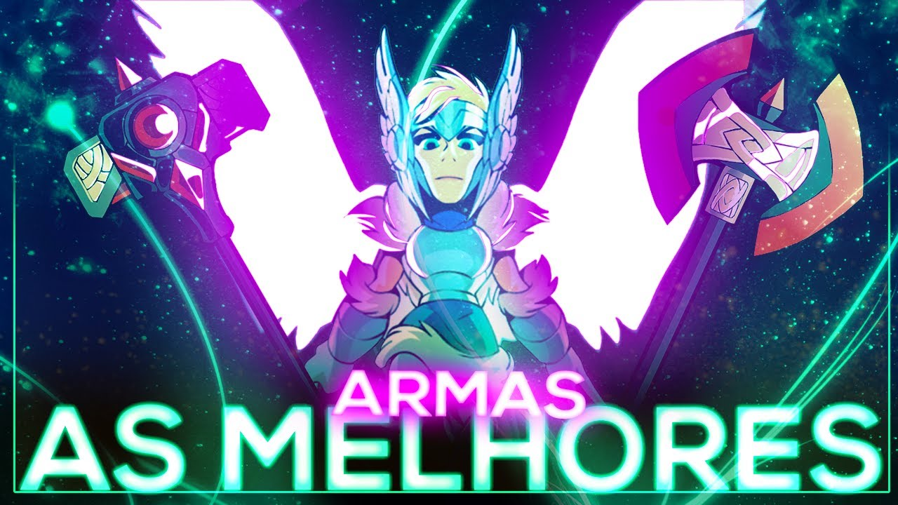 TOP 5 ARMAS MAIS FORTES DO BRAWLHALLA