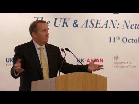 ASEAN@50 Business Forum: Rt Hon Liam Fox MP, Secretary of State for International Trade